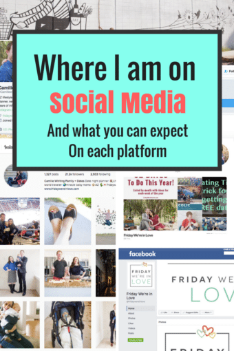 Where I Am on Social Media and What to Expect on Each Platform