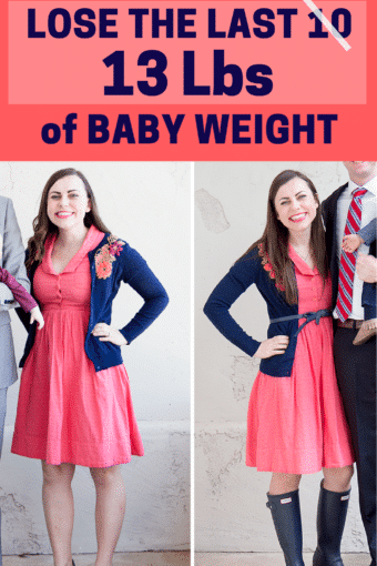 The One Thing I've Changed to Lose the Last 10-15 Lbs of Baby Weight