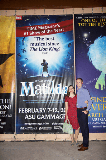 Matilda the Musical: Year of Dates February
