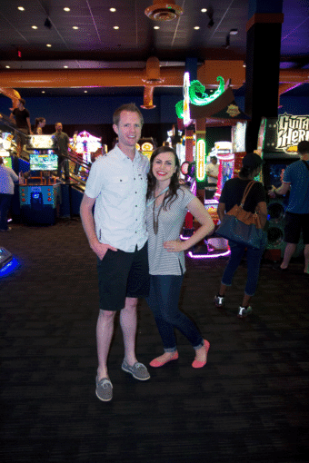 Dave & Buster's Date Night