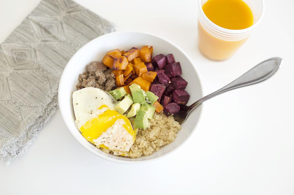 Savory and Sweet Breakfast Bowl Recipe
