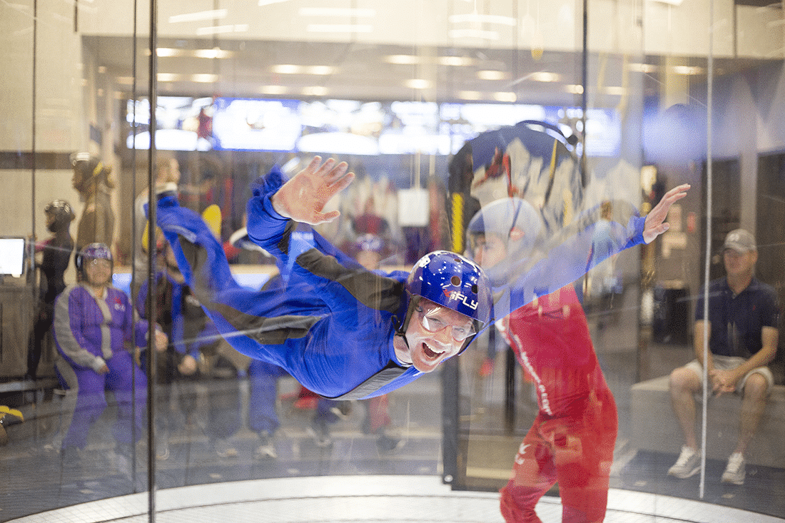 iFly: Indoor Skydiving Date - Friday We're in Love