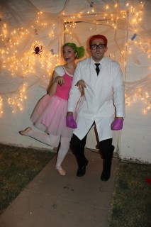 Couple's Halloween Costume Ideas and Family Costume Ideas