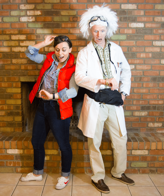 150 couples halloween costume ideas doc and marty