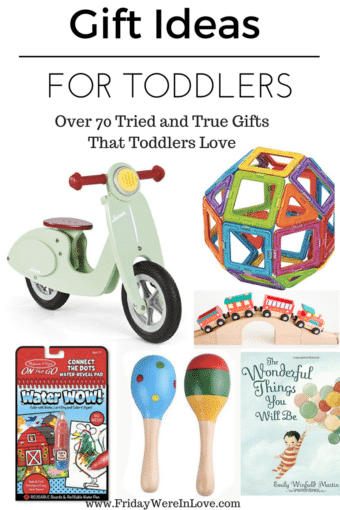 Toddler Gift Guide: Tried and True Toddler Gifts