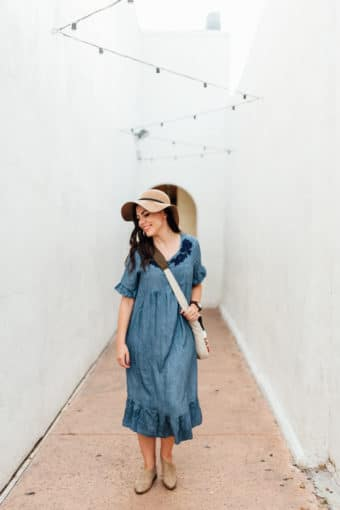 20 Chambray Dress Outfits You'll Love!