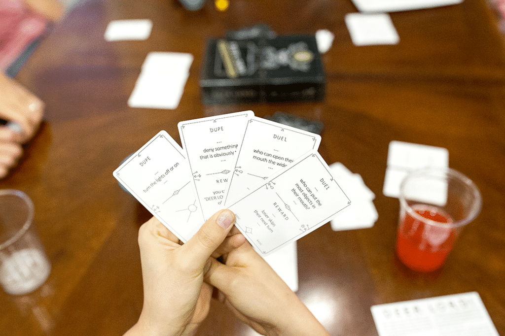 Couples Game Night: Eight Ways to make sure your next couple's game night in is a success with plenty of game night ideas and tips!