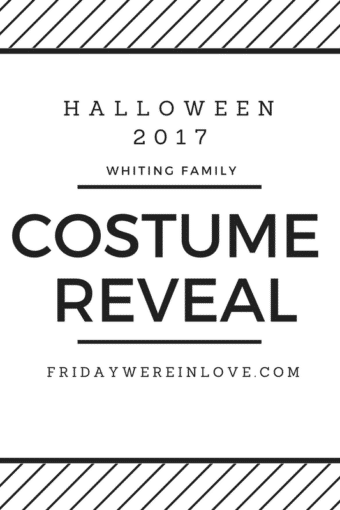 Halloween 2017: Family Halloween Costume Reveal