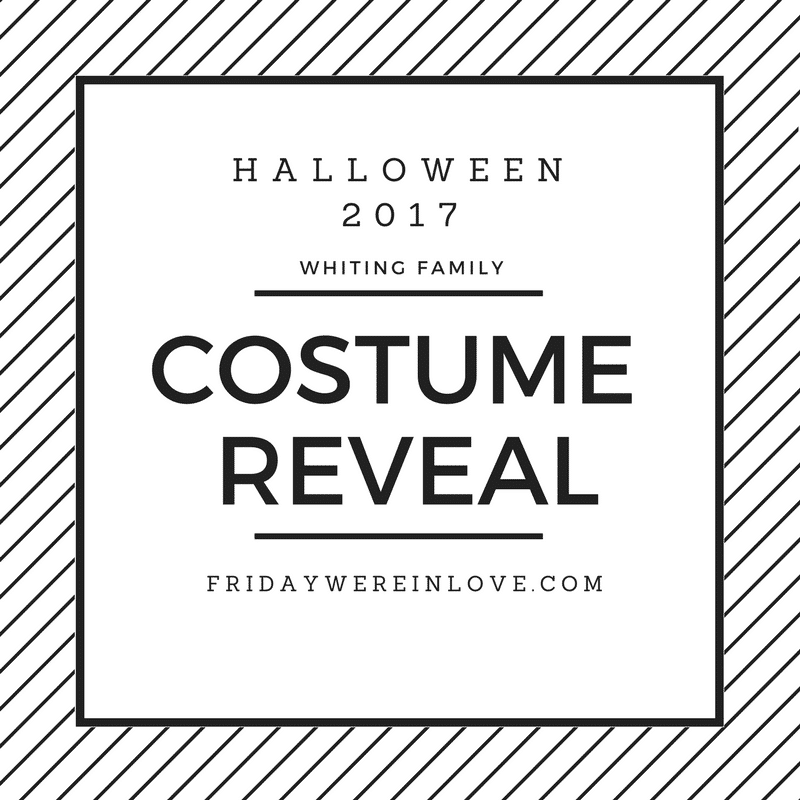 Family Halloween Costume Reveal