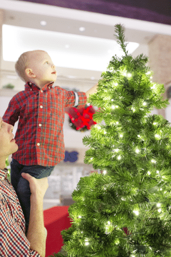 Holiday Outfits and Christmas Fun with Toddlers