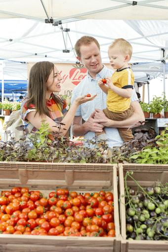 Farmer's Market Date