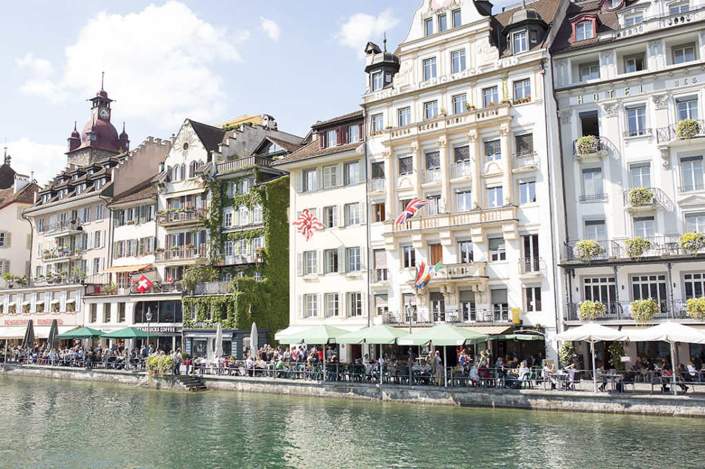 Lucerne Switzerland is one of the most picturesque cities in Europe, and one you can spend the day with Lucerne sightseeing completely for free. Here's a complete guide to visiting Lucerne Switzerland #lucerne #europetravel #switzerland #lucerneswitzerland