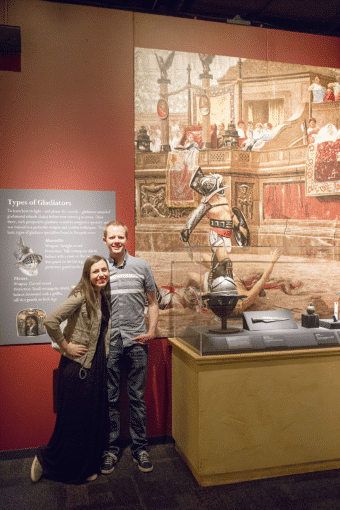 The Pompeii Exhibit Date Night