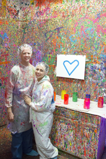 Paint Splatter Studio Date Night
