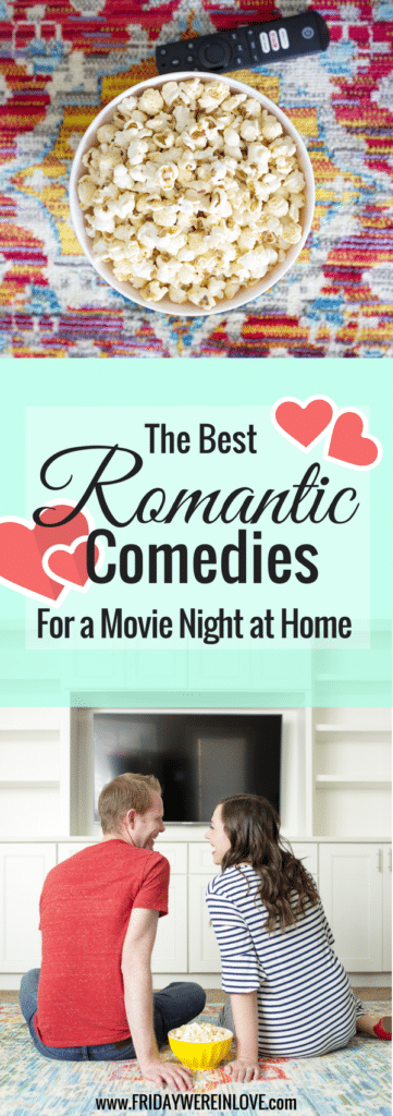 Date nights at home? Here are some of the best movies to watch with your boyfriend (or best movies to watch with your husband!) for your next movie night in!
