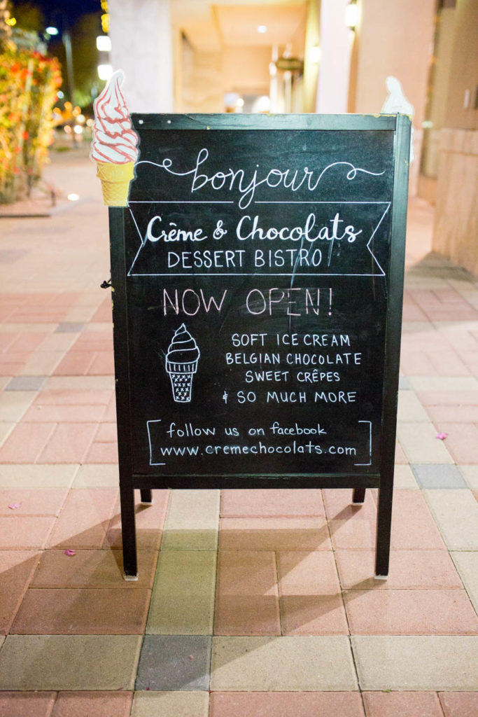 European chocolate date night