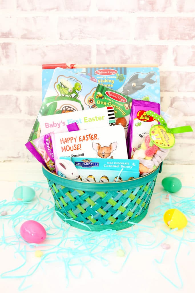 Easy and affordable toddler boy easter basket ideas friday we easy toddler boy easter basket ideas that are affordable educational and fun negle Images