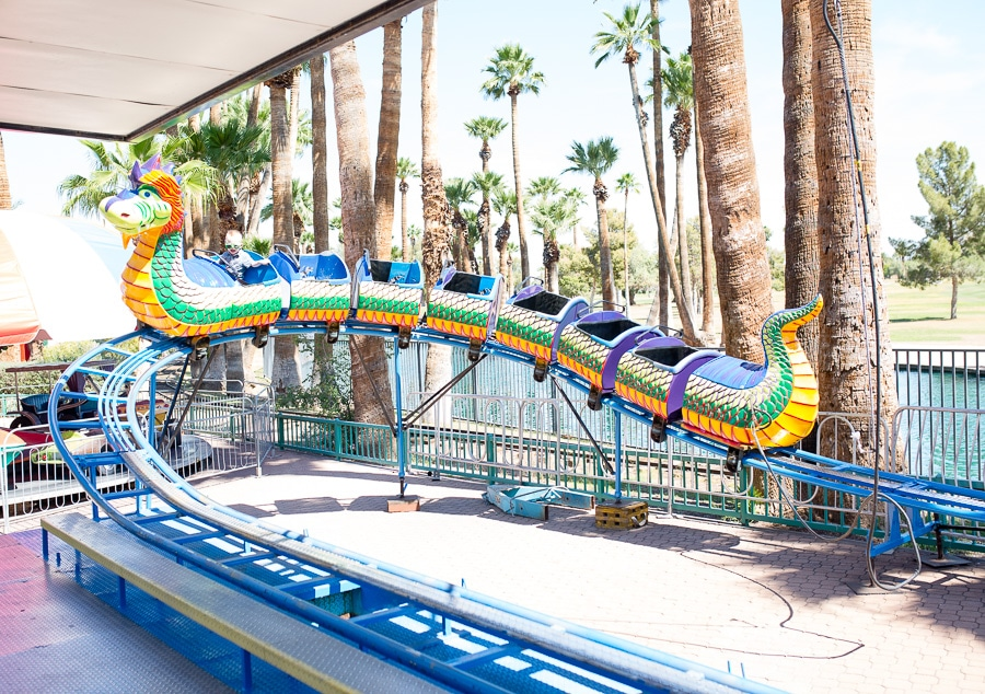 Rides and family fun at Enchanted Island Phoenix