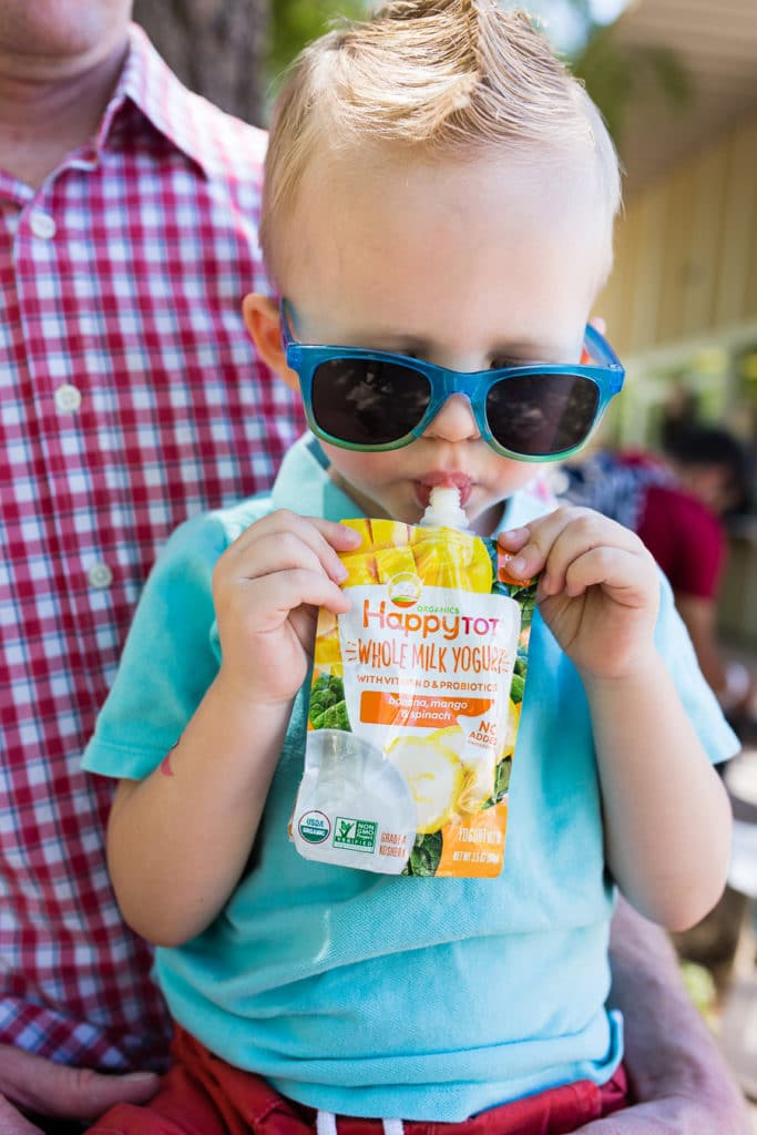 Snacks that keep a toddler happy
