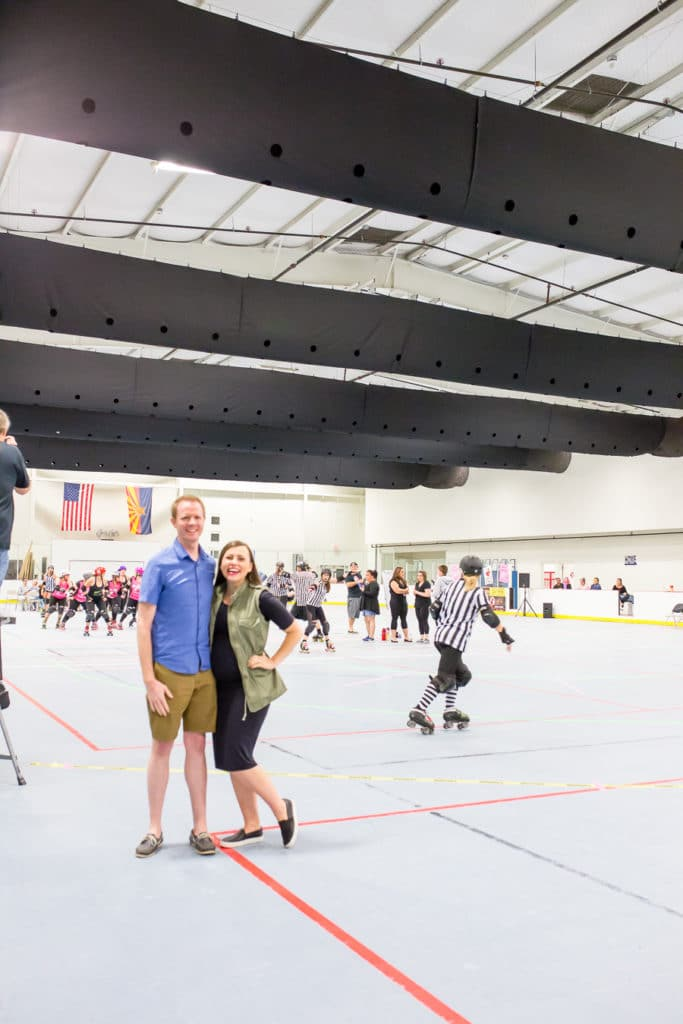 Date Night at the roller derby