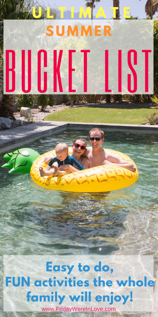 Summer Bucket List Ideas the whole family will love!