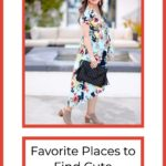 Best places to find cute maternity clothes