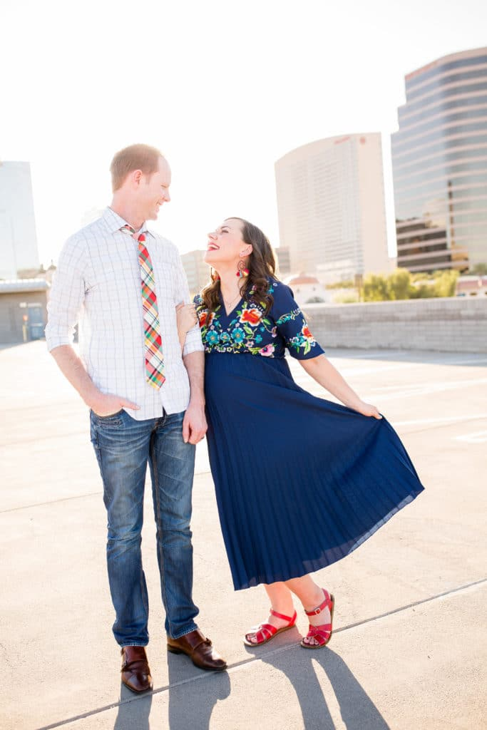 The best places to find the perfect maternity photoshoot dress