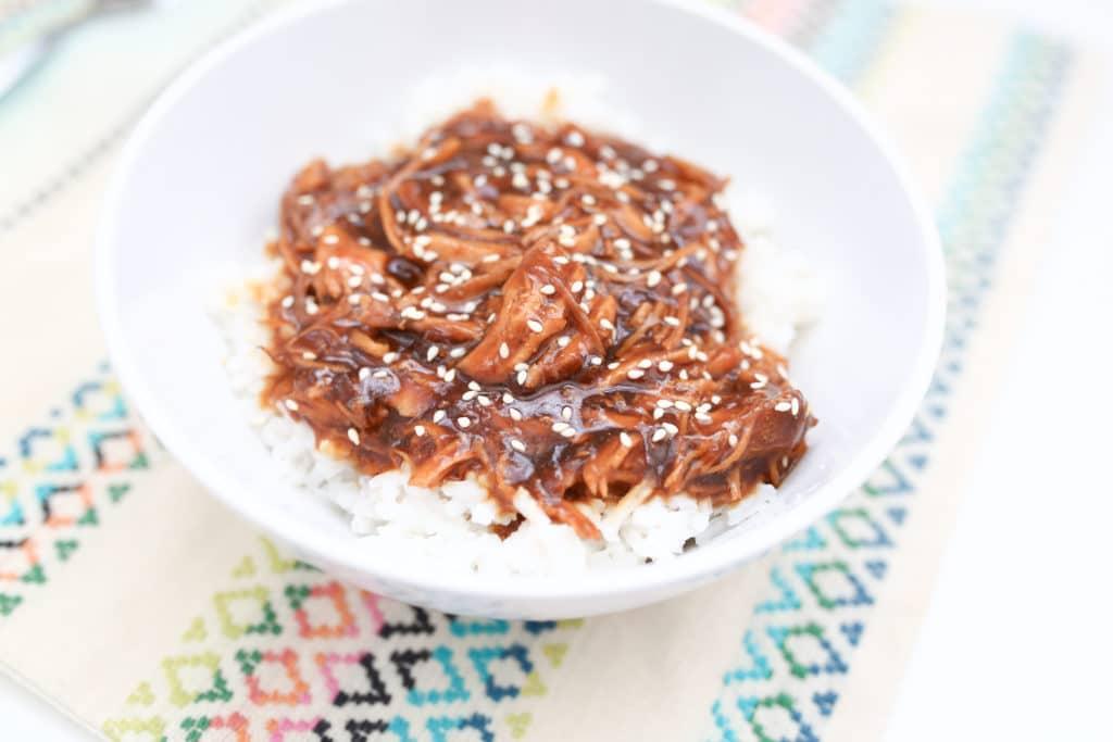 Honey Sesame Chicken Crock Pot Recipe