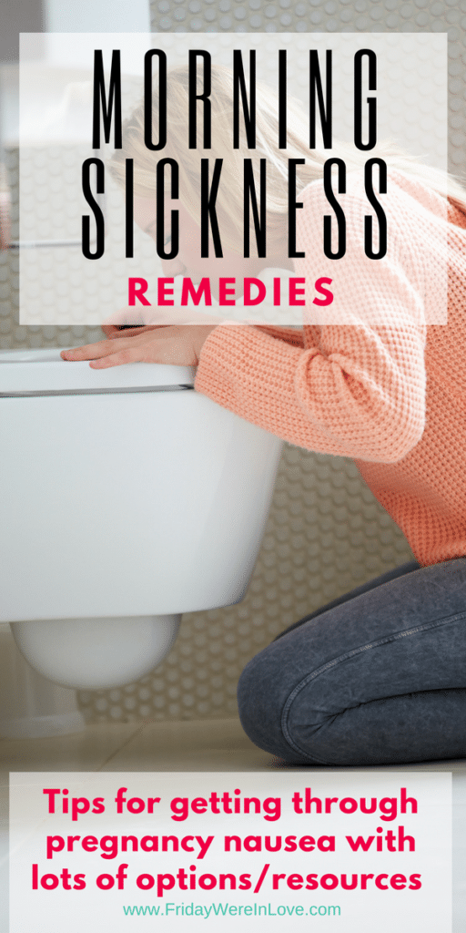 Morning Sickness Remedies to help with pregnancy nausea