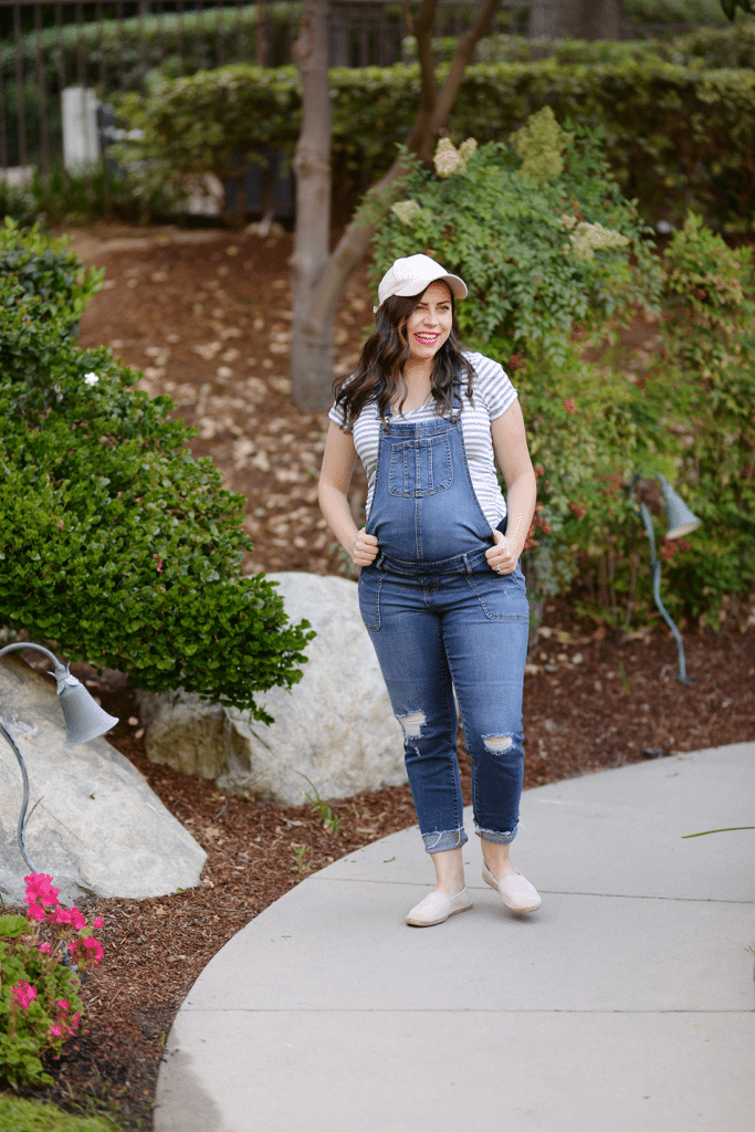 stylish maternity overalls