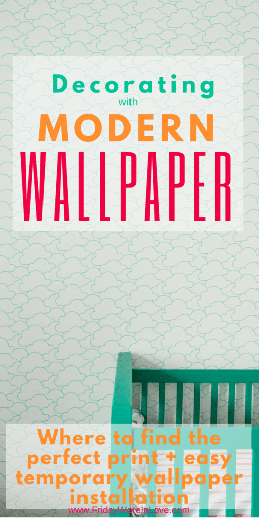 Decorating with modern wallpaper_ modern wallpaper prints and easy installation