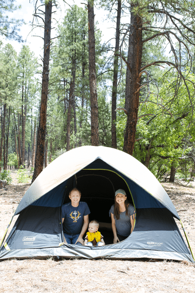 Family Camping Trip made easy! Tips for easy camping with kids