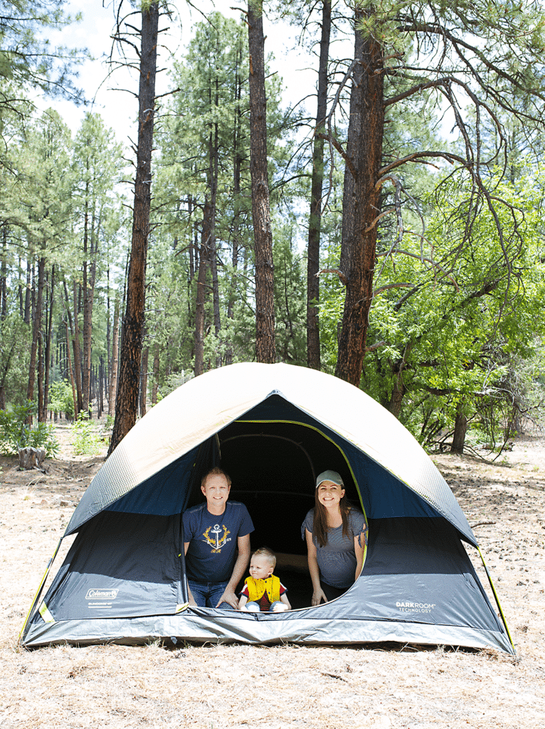 Easy camping trips for your next weekend campout