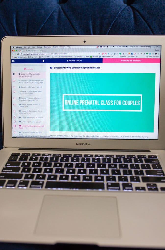 Online Couple's Birth Class