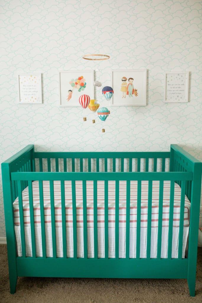 The Wonderful Things You Will Be Nursery: Modern book themed nursery reveal