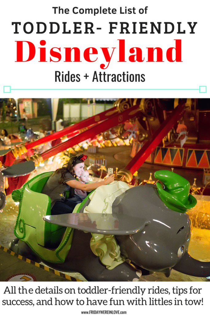Disneyland Rides for Toddlers