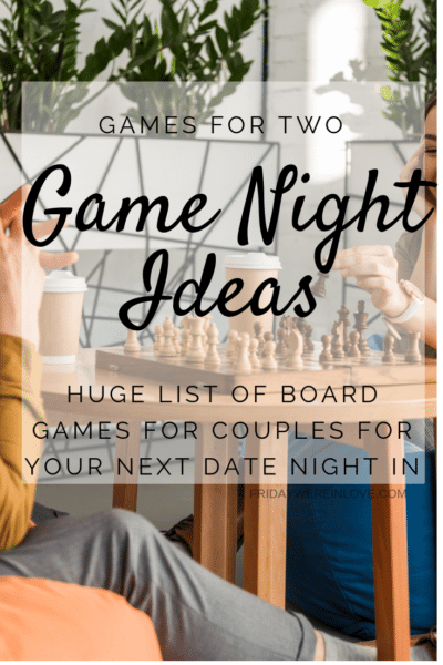 Game Night Ideas_ Board Games for Couples for your Next Date Night At Home