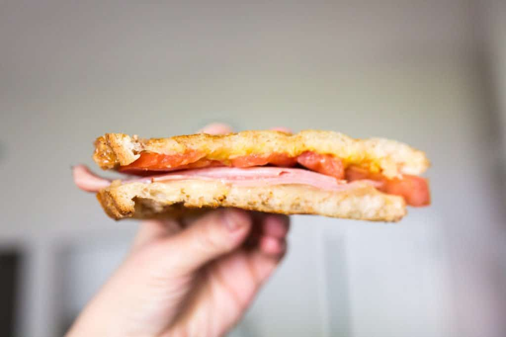 How to make a panini without a panini press