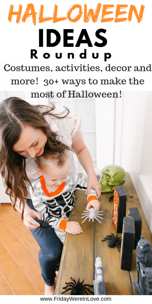 Halloween Ideas Roundup. Costume ideas, Halloween activities, decor, and 30+ ways to make the most of Halloween!