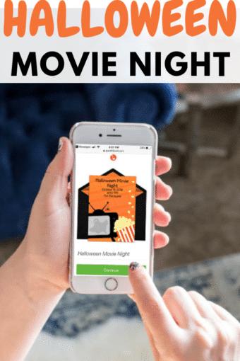 Halloween Movie Night Group Date