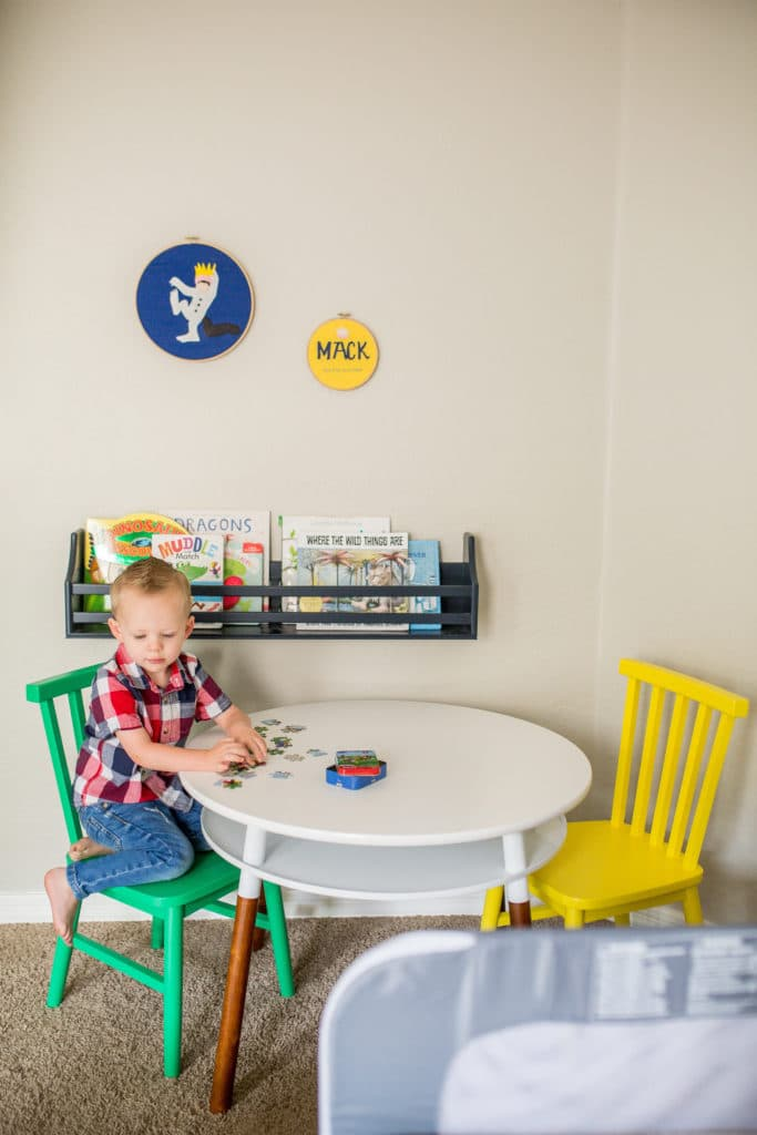 the perfect little boy's bedroom