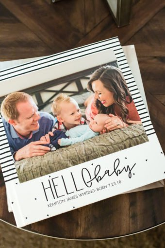 Baby Photo Album: Celebrating the Second Happiest Day of Your Life
