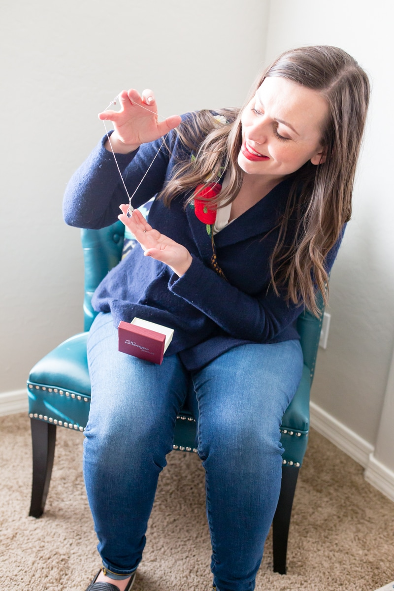 Birthstone Necklace for the modern mom