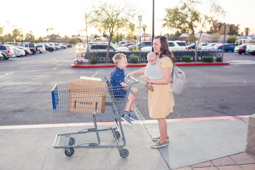 Surviving Shopping (and Life!) with a Baby and a Toddler