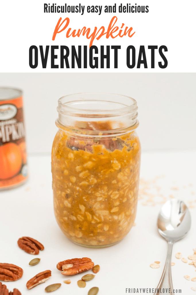 pumpkin overnight oats recipe