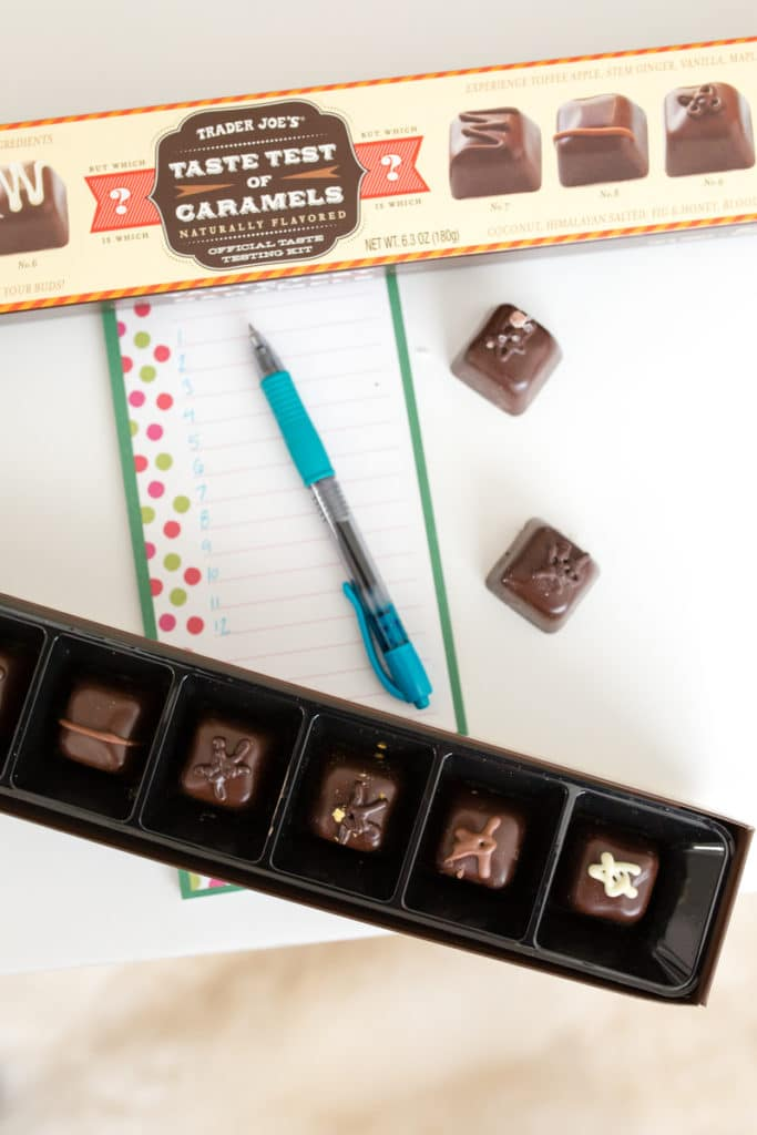 romantic chocolate tasting date night