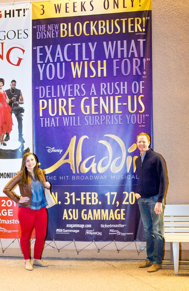 Aladdin the Musical Date Night