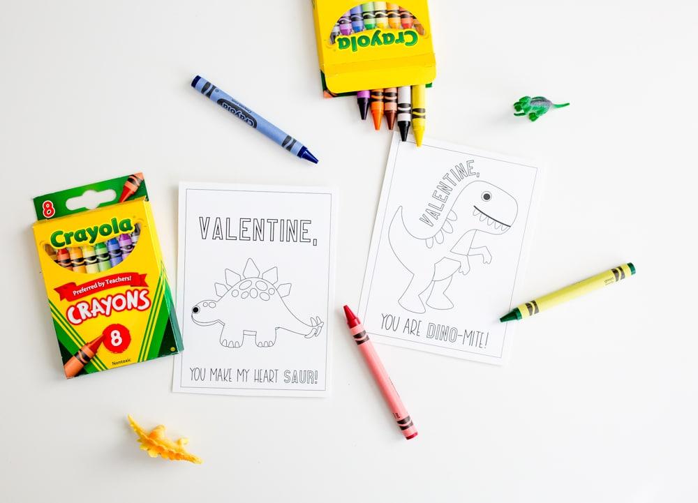 Easy Printable Valentines Cards