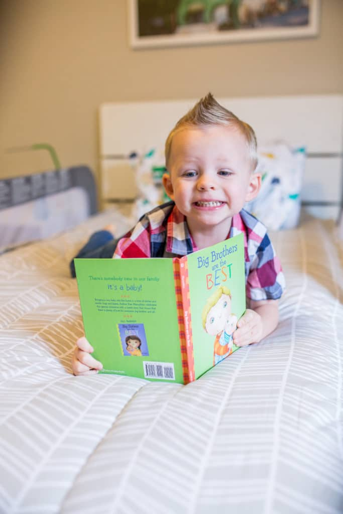 Having a New Baby Book: preparing to become an older sibling