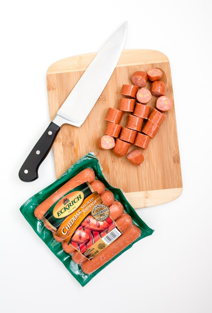 sausage sheet pan dinner